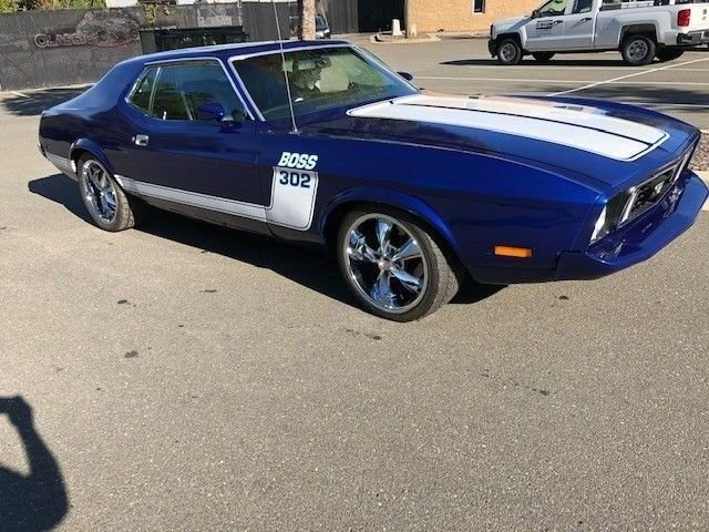 1973 ford mustang boss 302 fastback