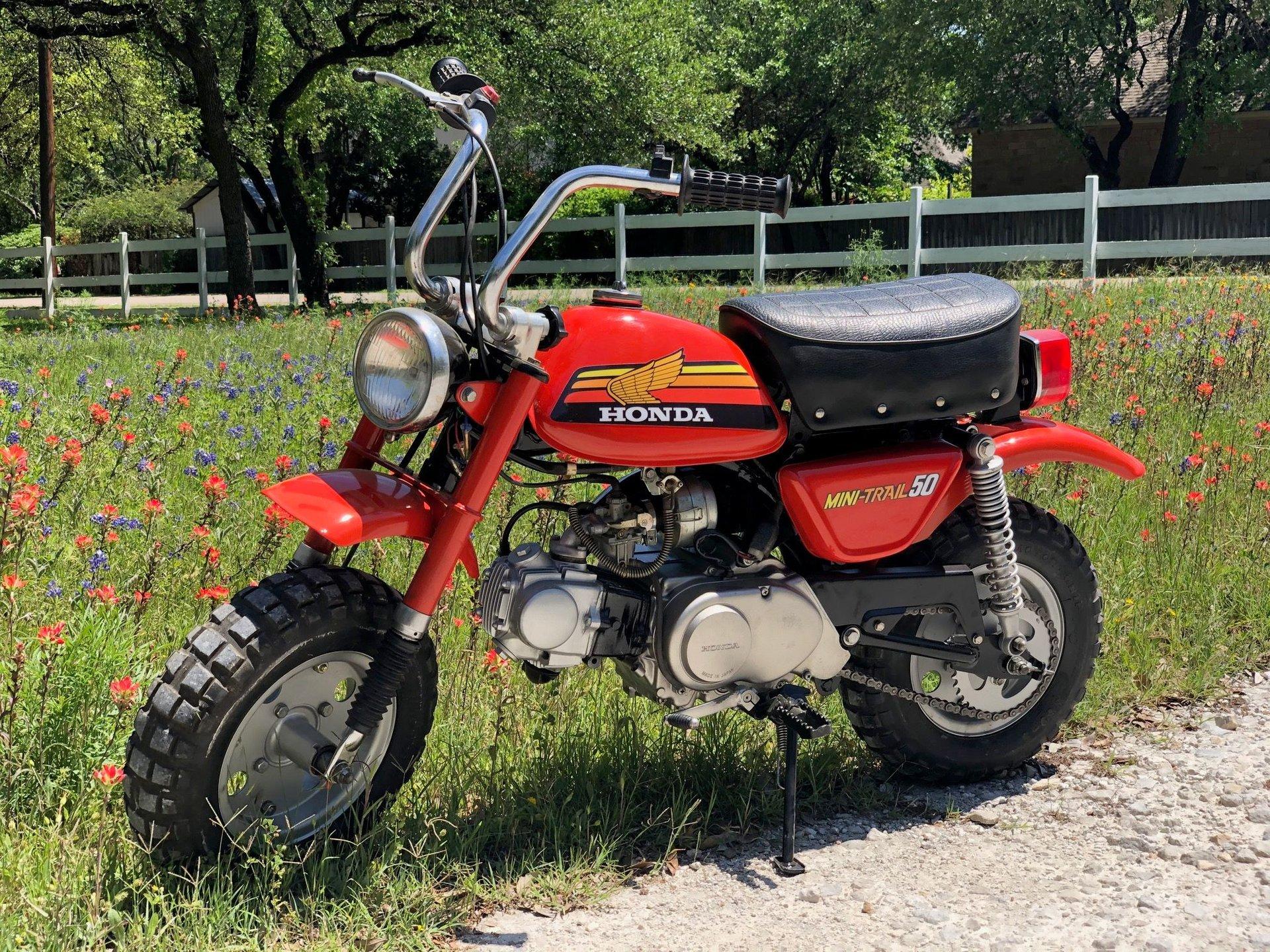 1977 honda z50 minibike