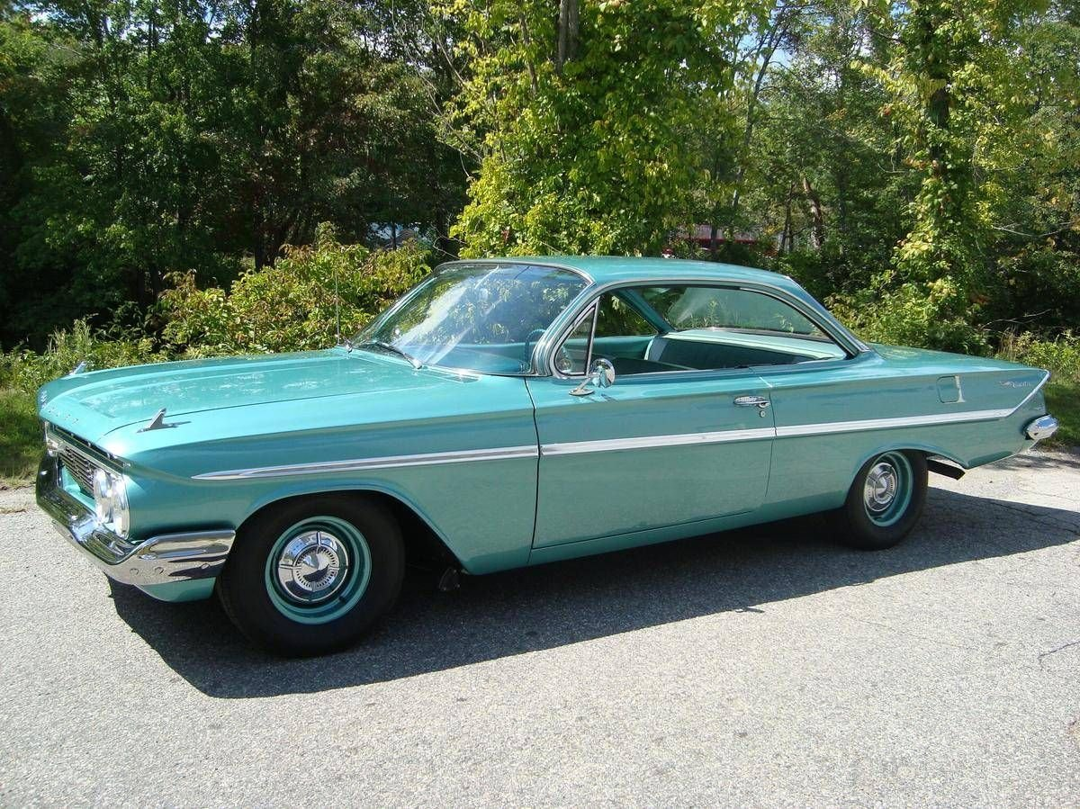 1961 chevrolet bel air 409 bubbletop