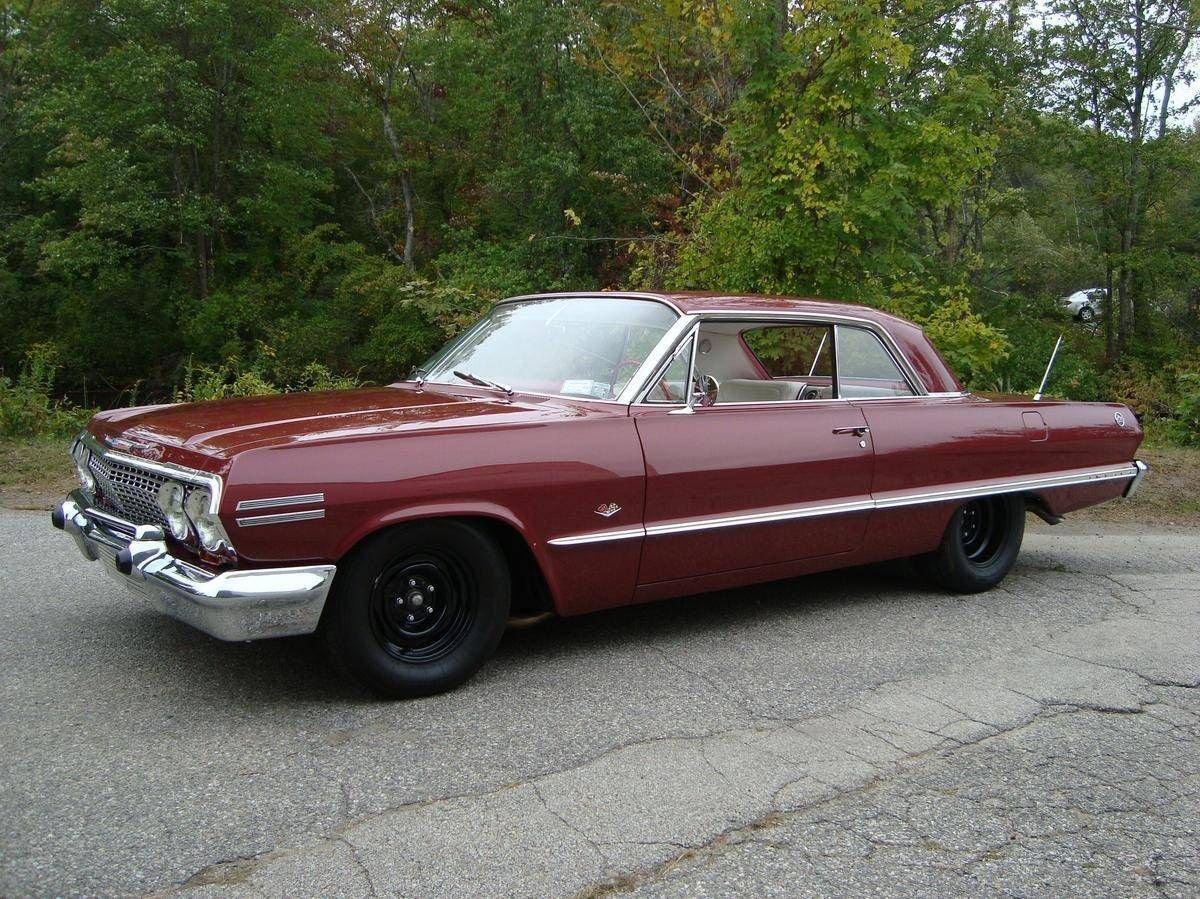 1963 chevrolet impala ss hardtop