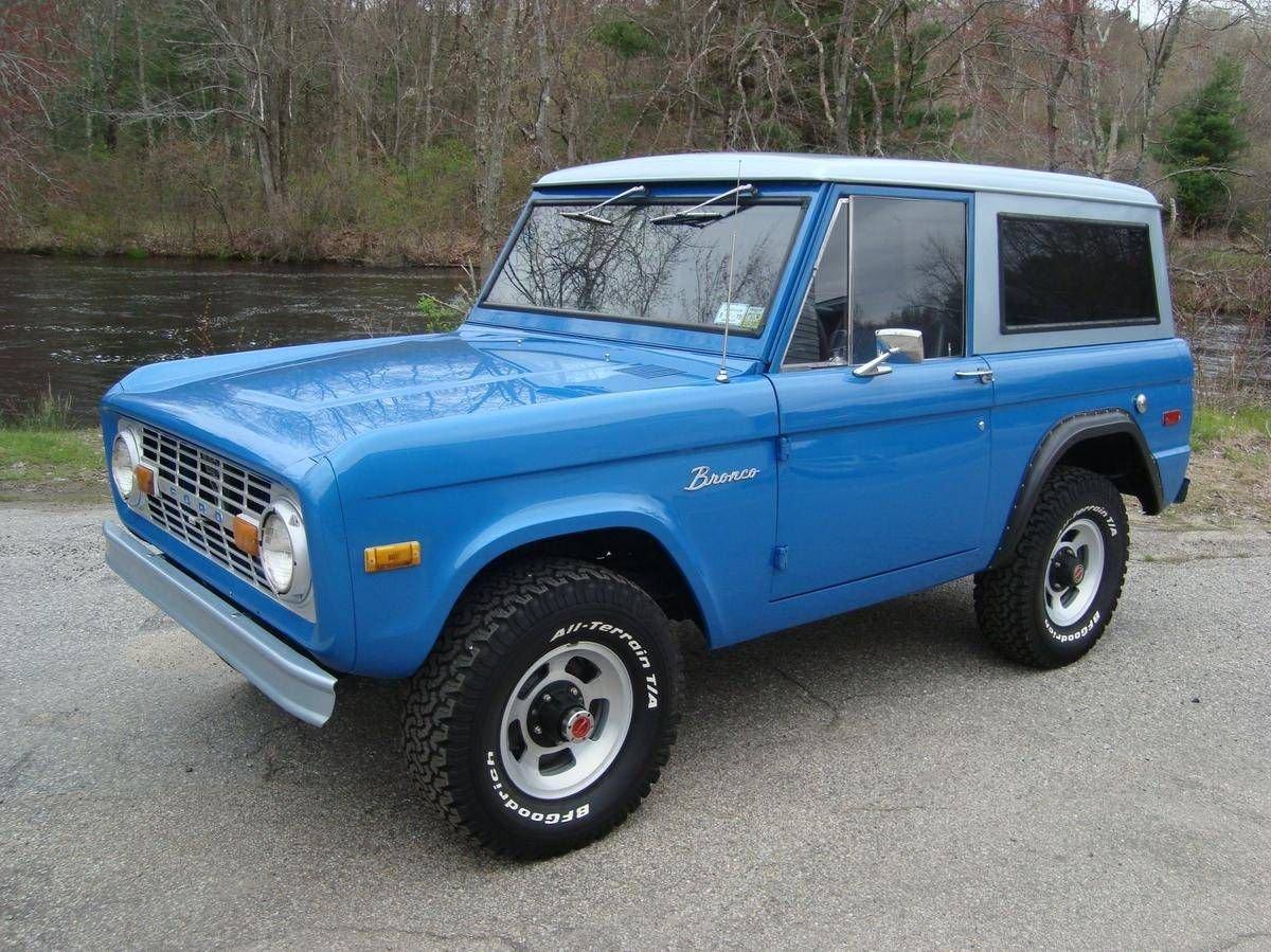 1974 ford bronco 4 x 4