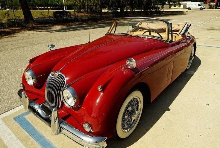 1959 jaguar xk150 roadster