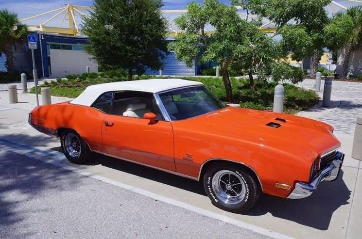 1972 buick skylark gs stage 1 convertible