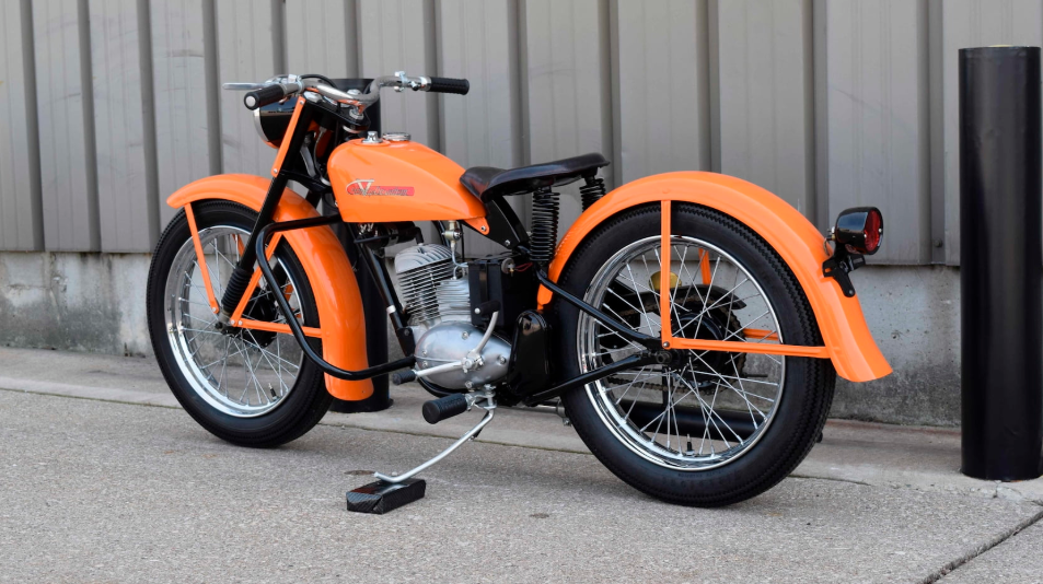 1956 harley davidson hummer motorcycle