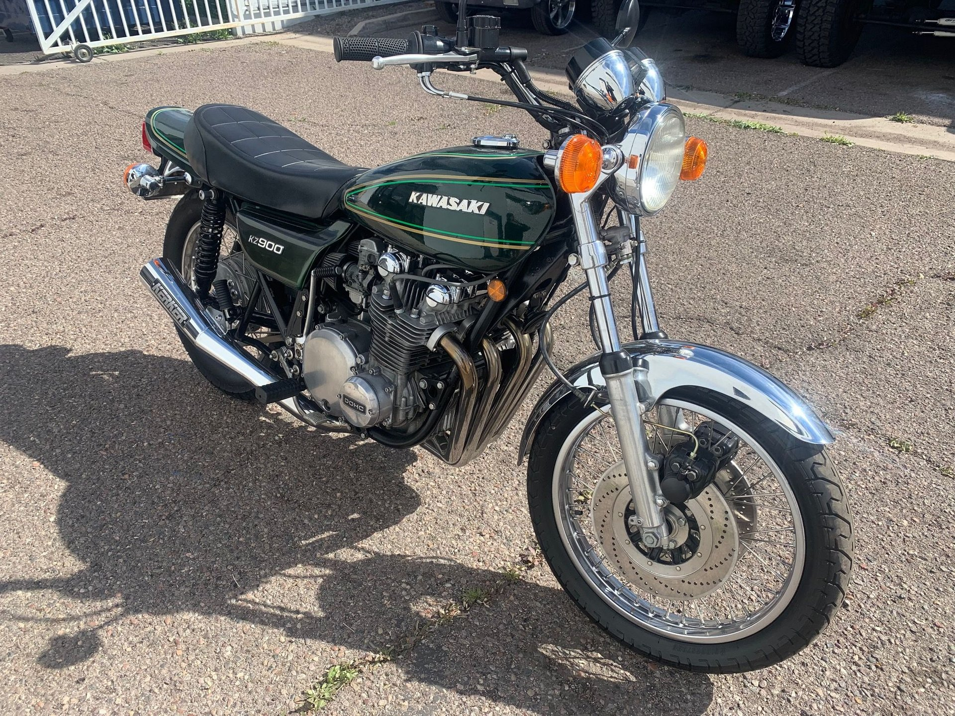 1978 kawasaki kz 900 motorcycle