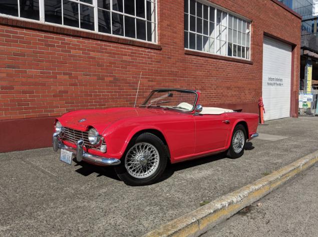 1964 triumph tr4 roadster