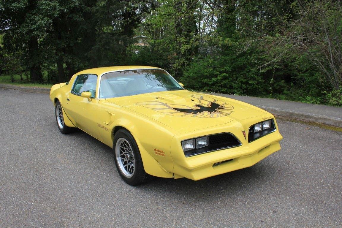 1977 pontiac trans am coupe