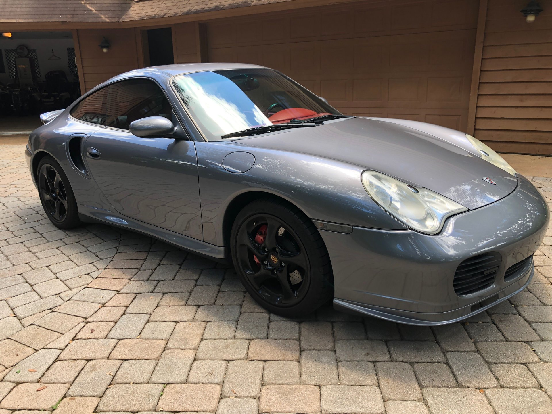 2001 porsche 911 turbo coupe