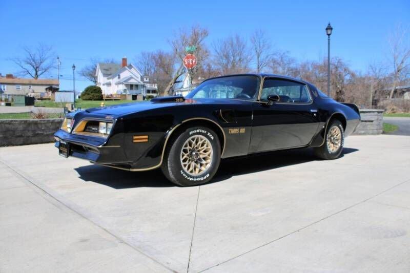 1978 pontiac trans am t top coupe
