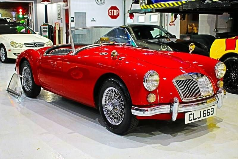 1961 mg mga 1600 convertible