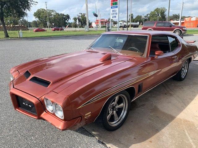 1971 pontiac gto coupe