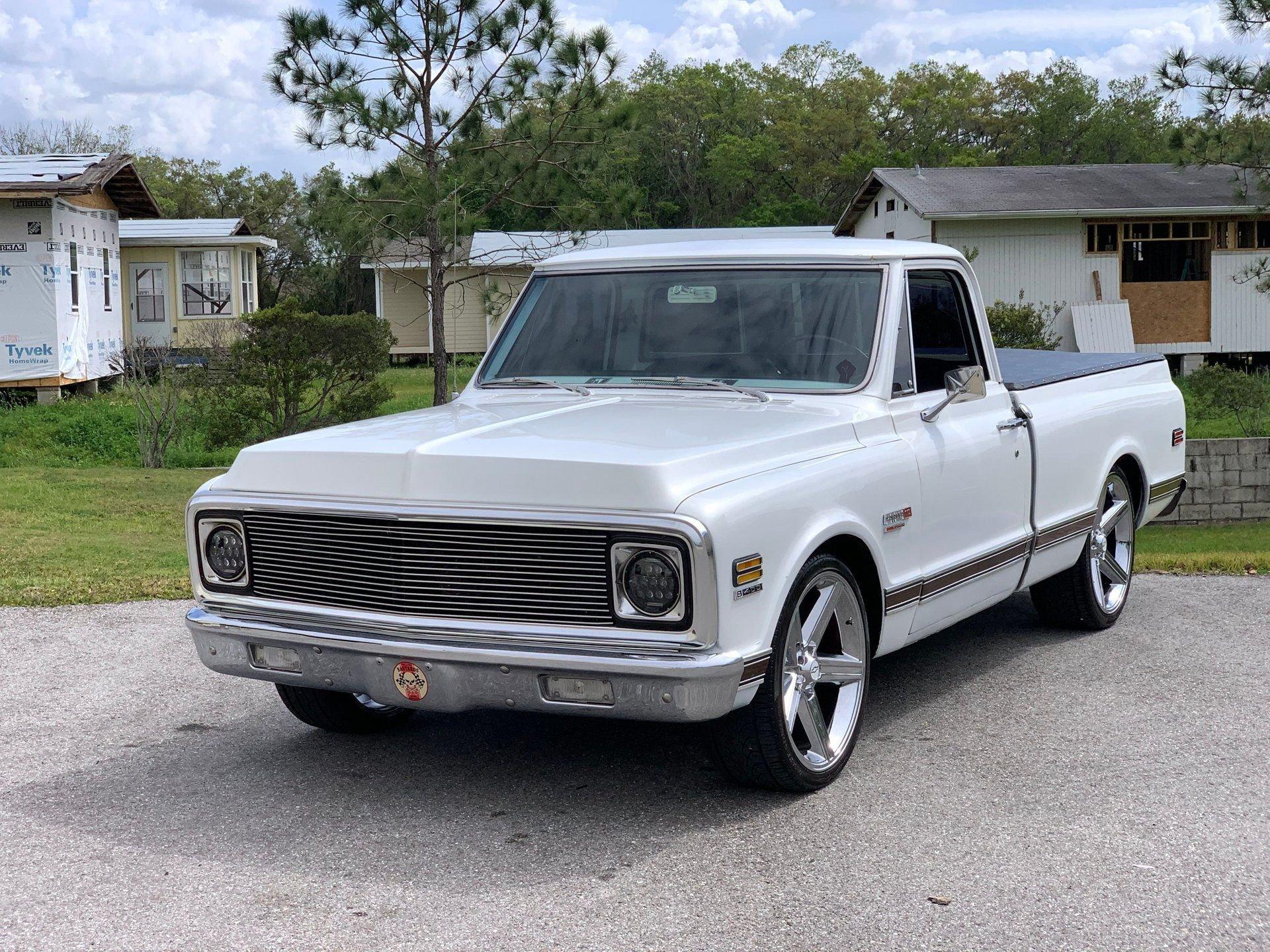 1972 chevrolet super cheynne c10 pickup