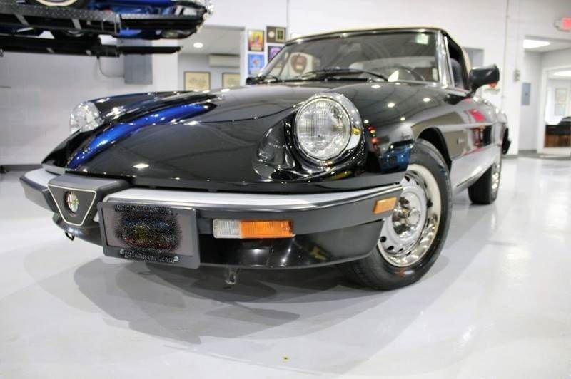 1990 alfa romeo graduate spider convertible