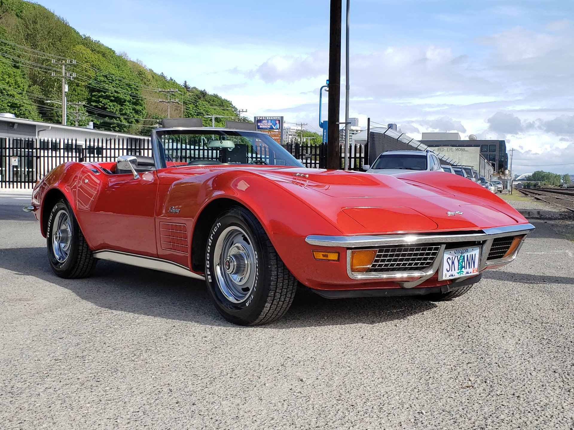 1972 chevrolet corvette 454 convertible