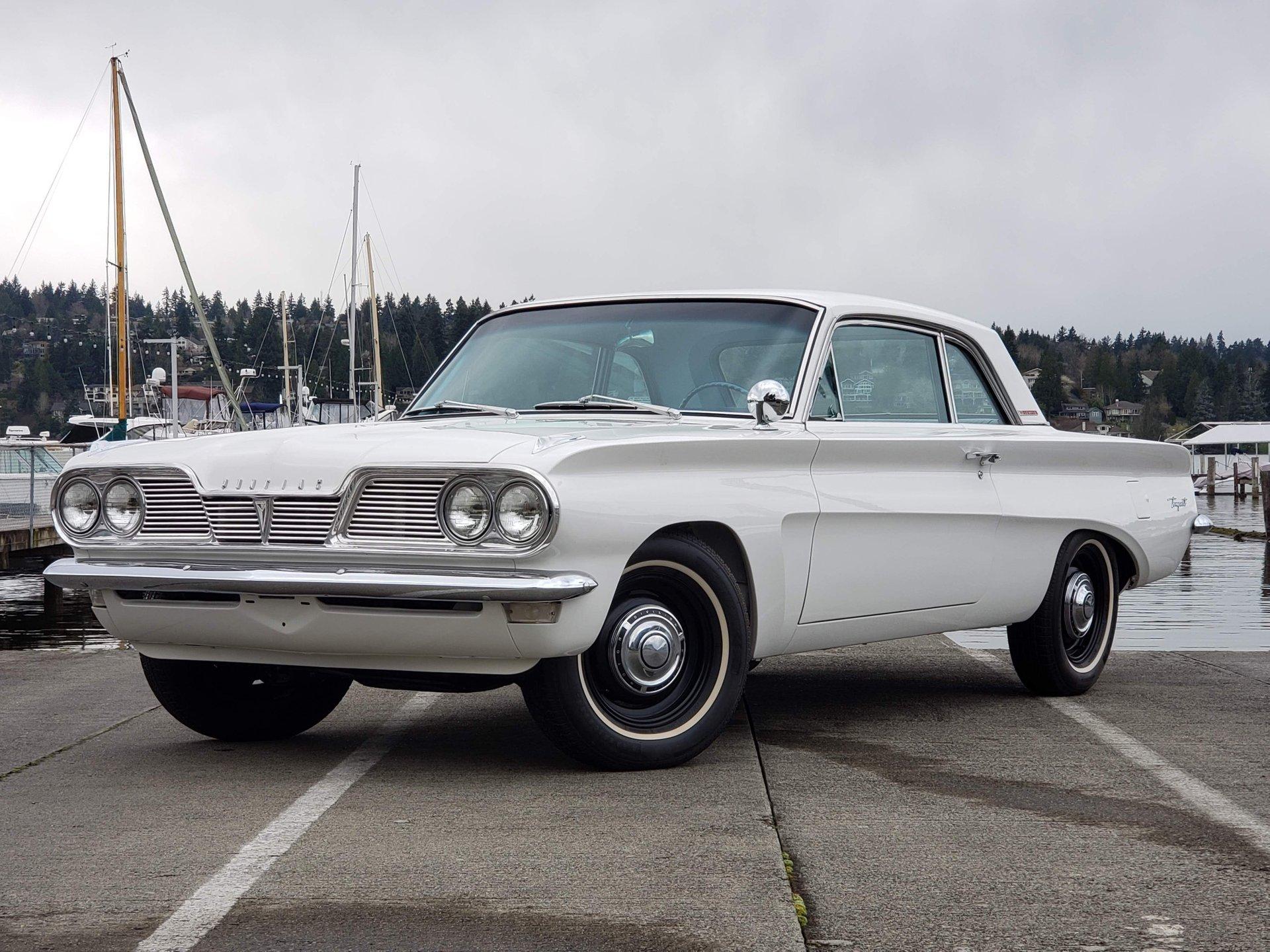 1962 pontiac lemans tempest coupe