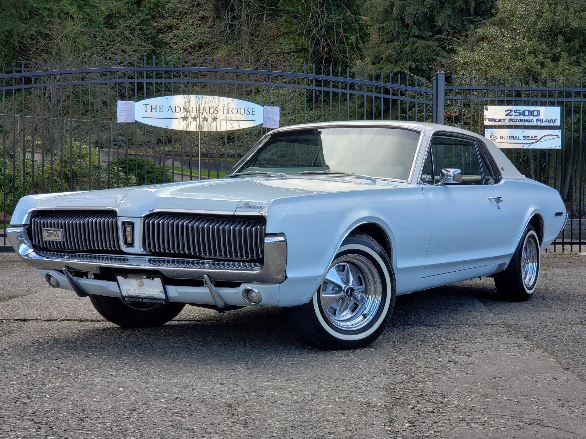 1967 mercury cougar xr 7 coupe