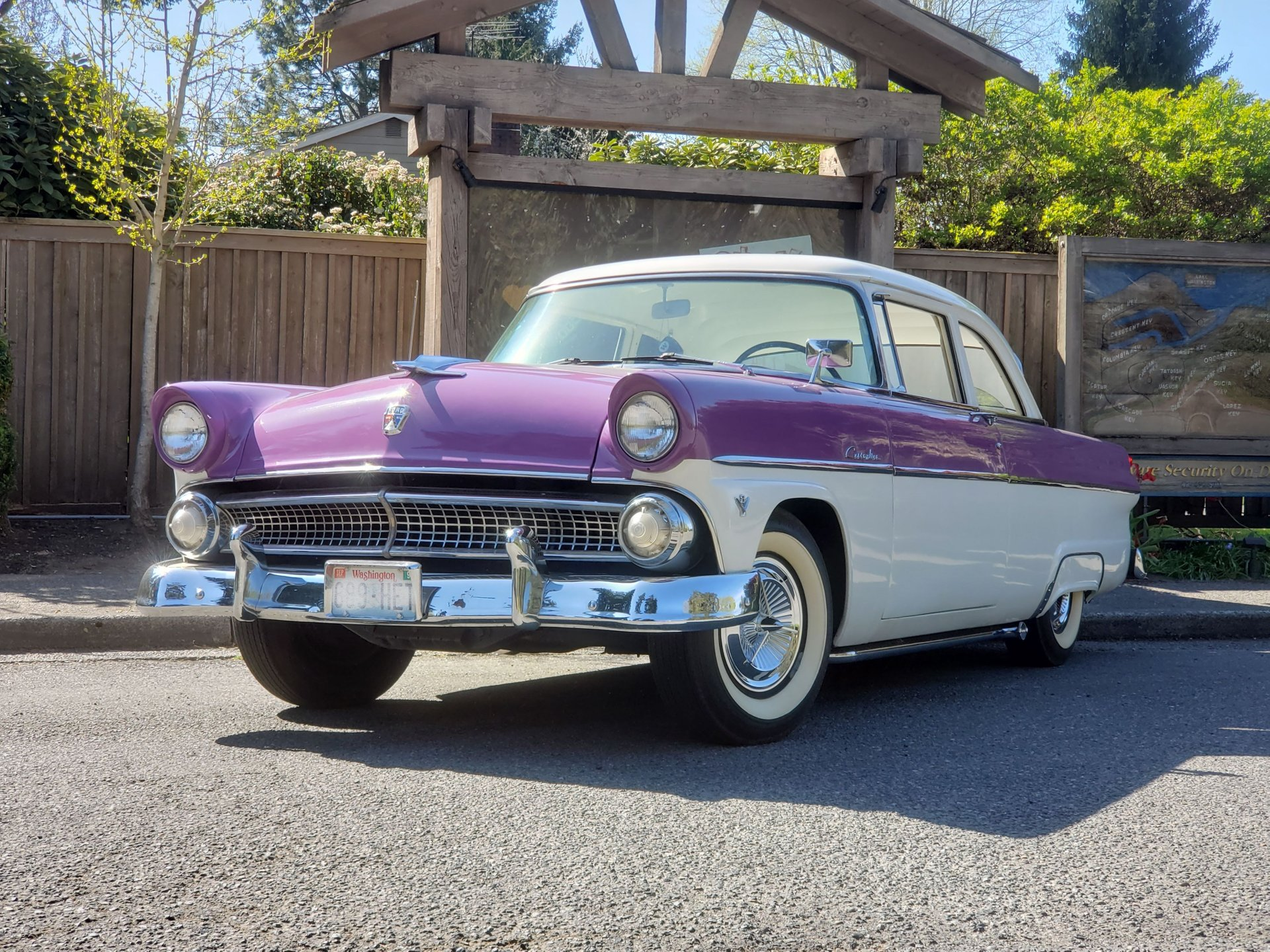 1955 ford customline coupe