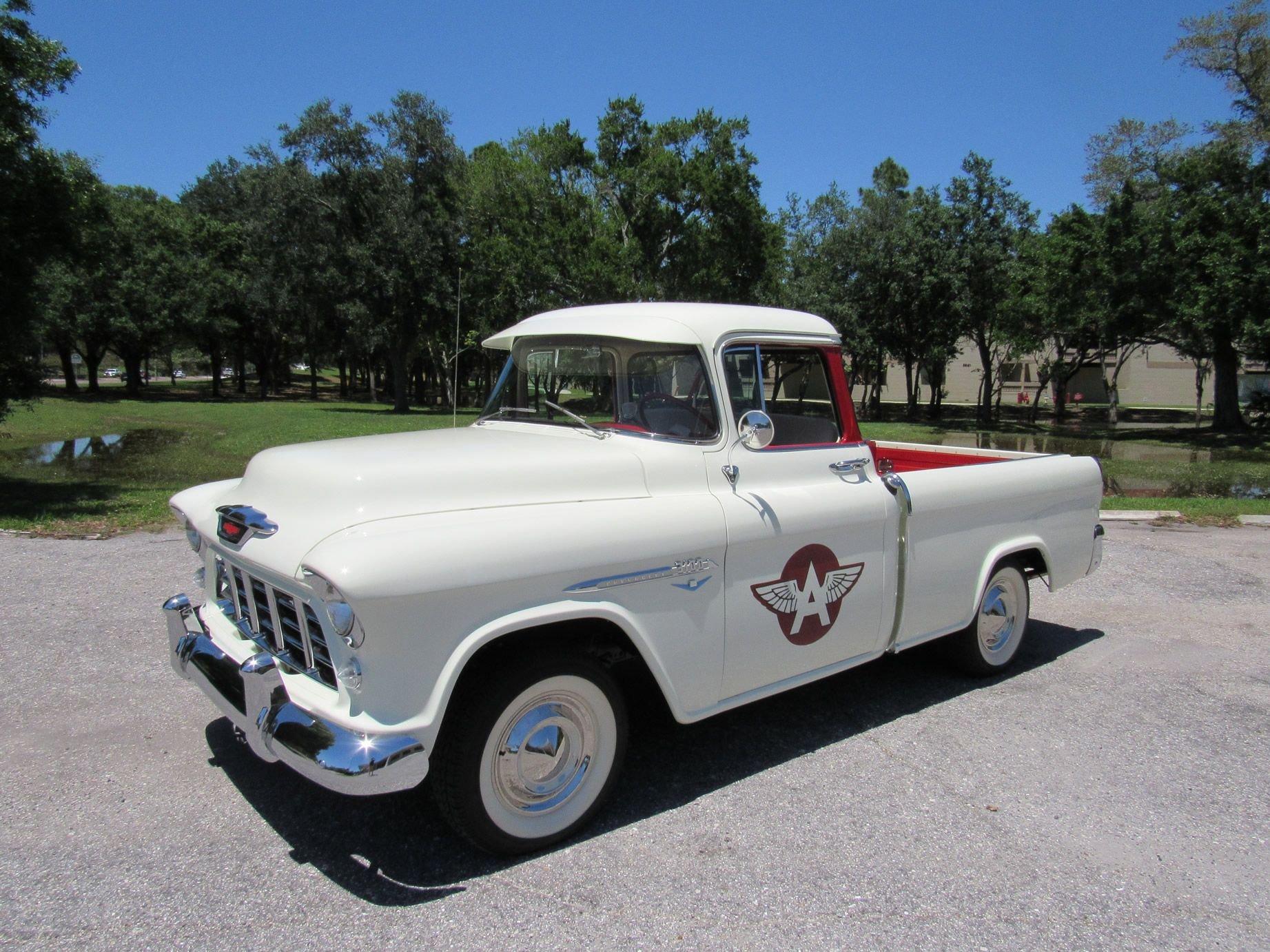 1955 chevrolet cameo 1 2 ton pickup