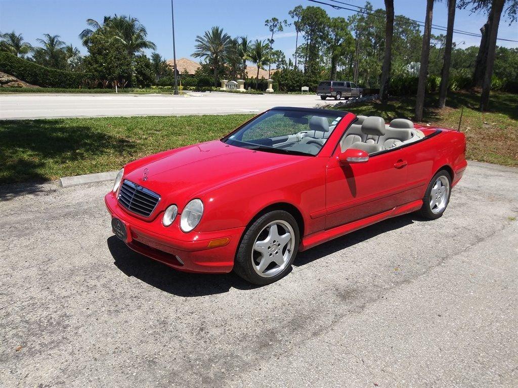 2001 mercedes benz clk430 cabriolet