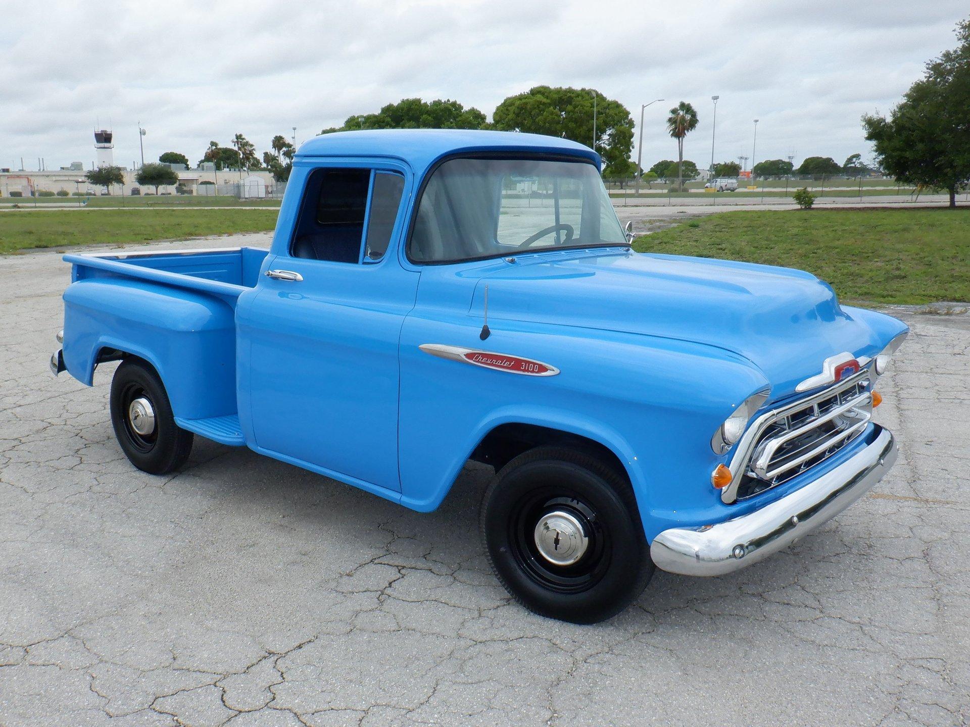 1957 chevrolet 3100 stepside pickup