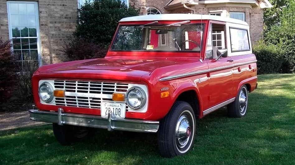 1971 ford bronco 4 x 4