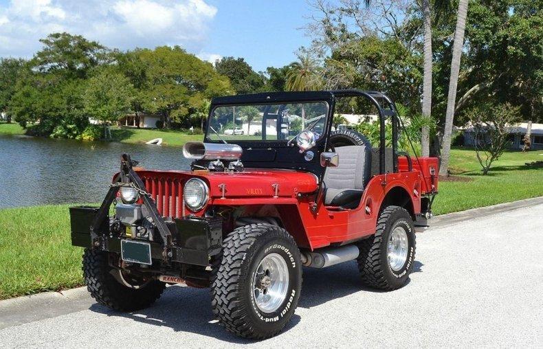 1953 Willys Jeep CJ-3A