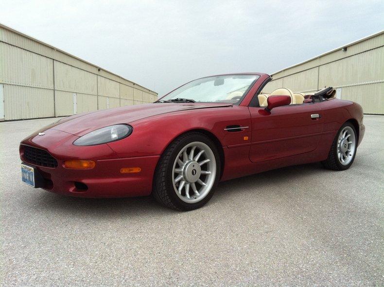 1997 Aston Martin DB7 Volante