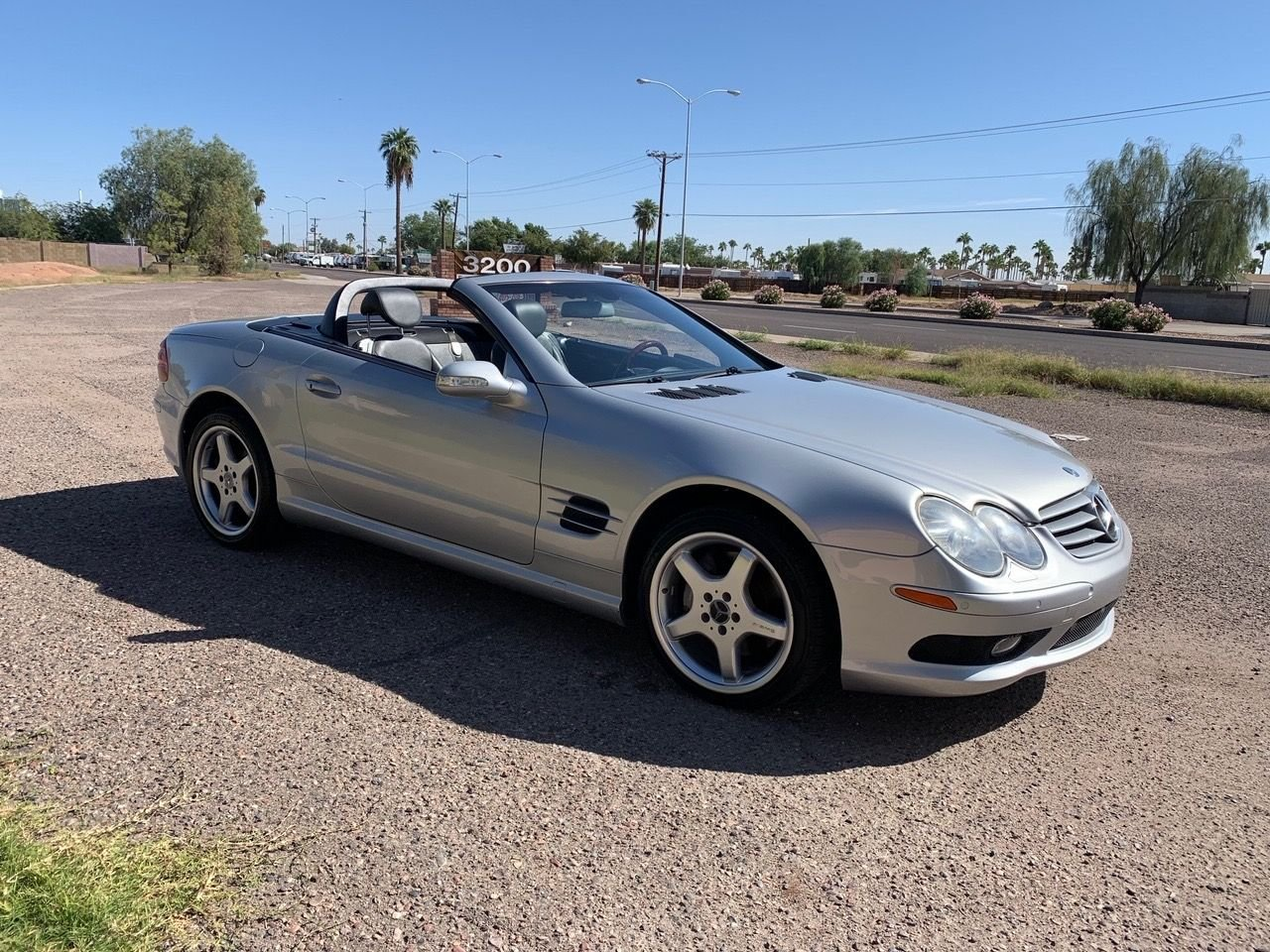2003 mercedes benz sl500 hardtop roadster