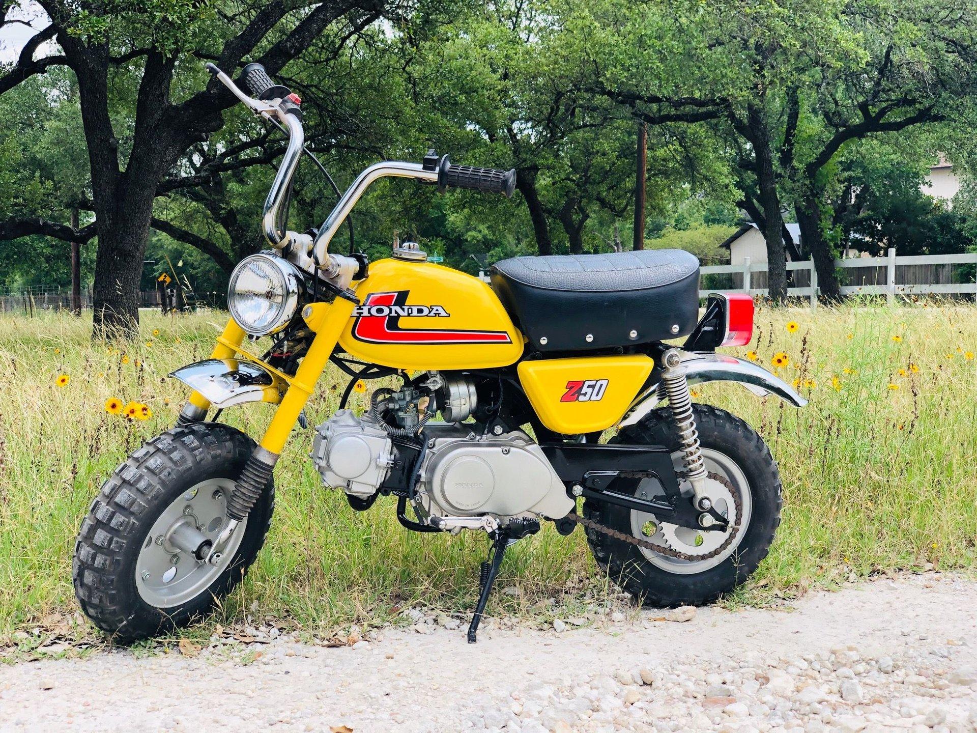 1976 honda z50 minibike
