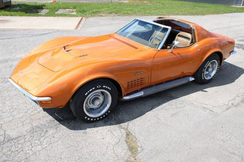 1972 chevrolet corvette 454 stingray coupe