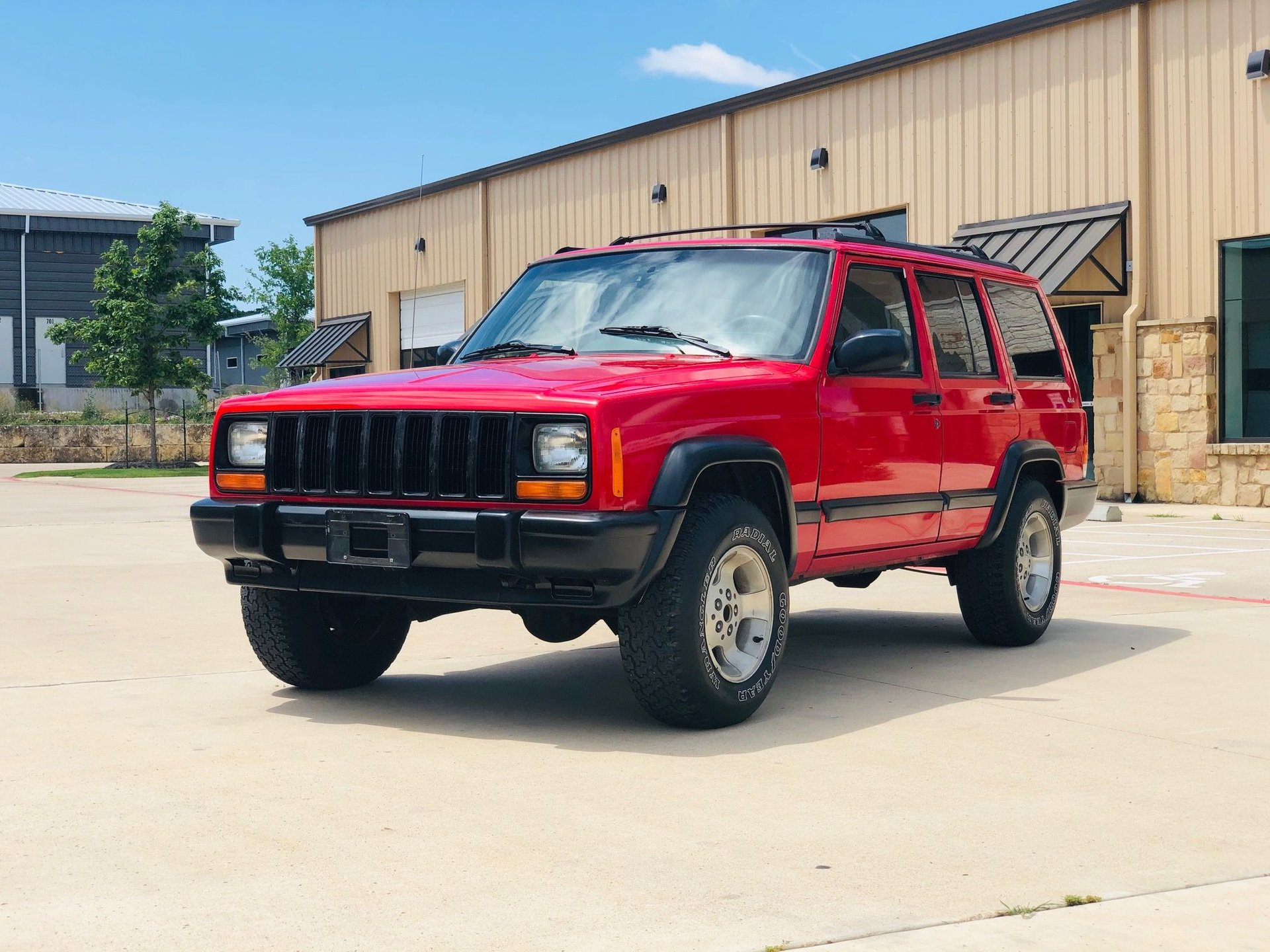 1997 jeep cherokee sport utility