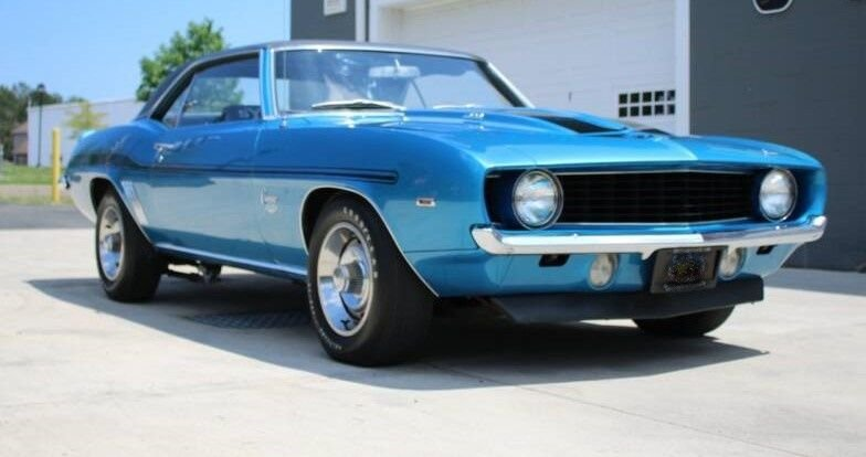 1969 chevrolet camaro yenko tribute coupe