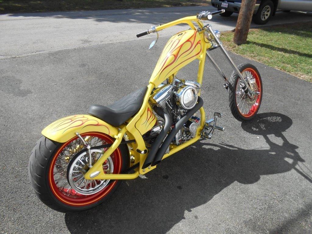 2004 grandeur custom motorcycle