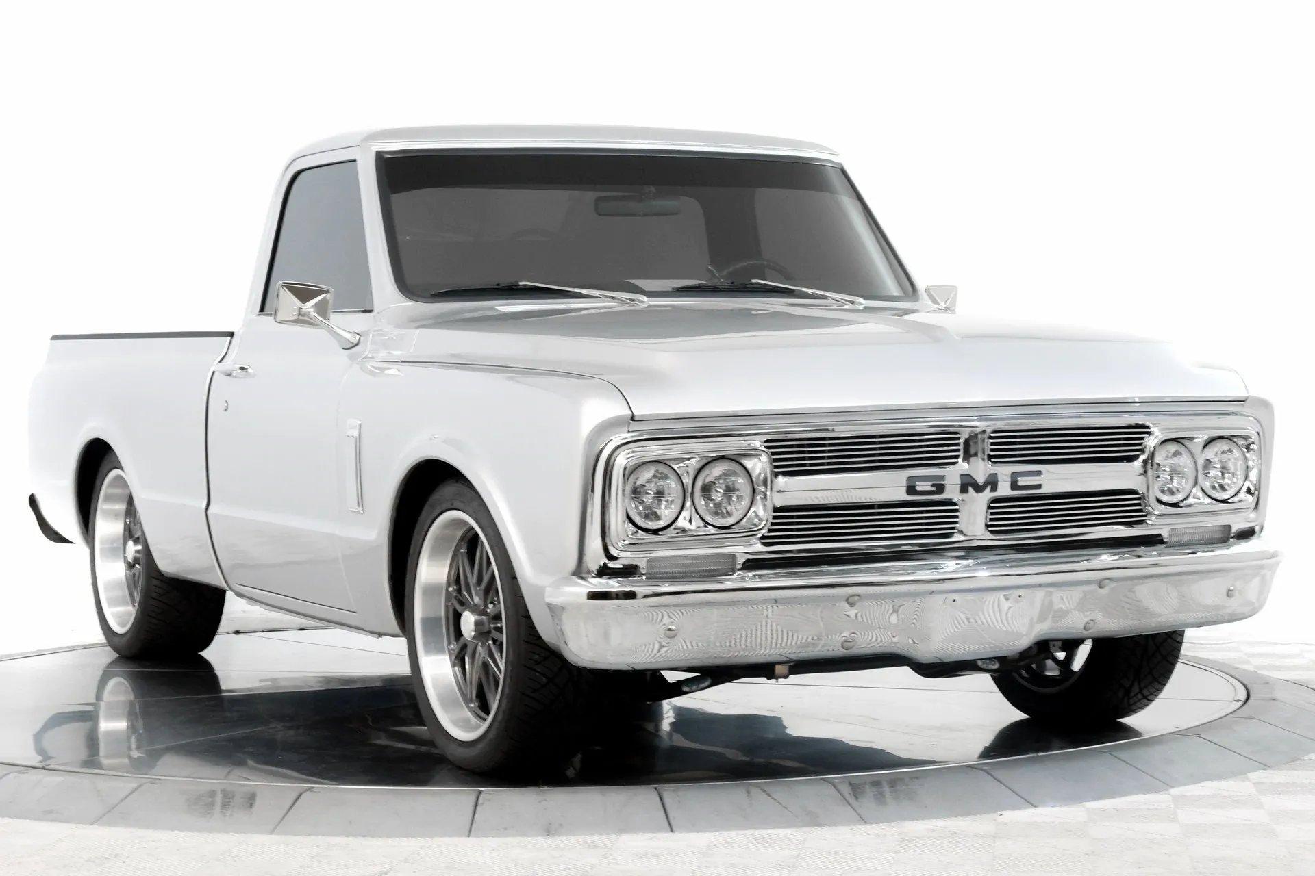 1969 gmc c10 restomod pickup