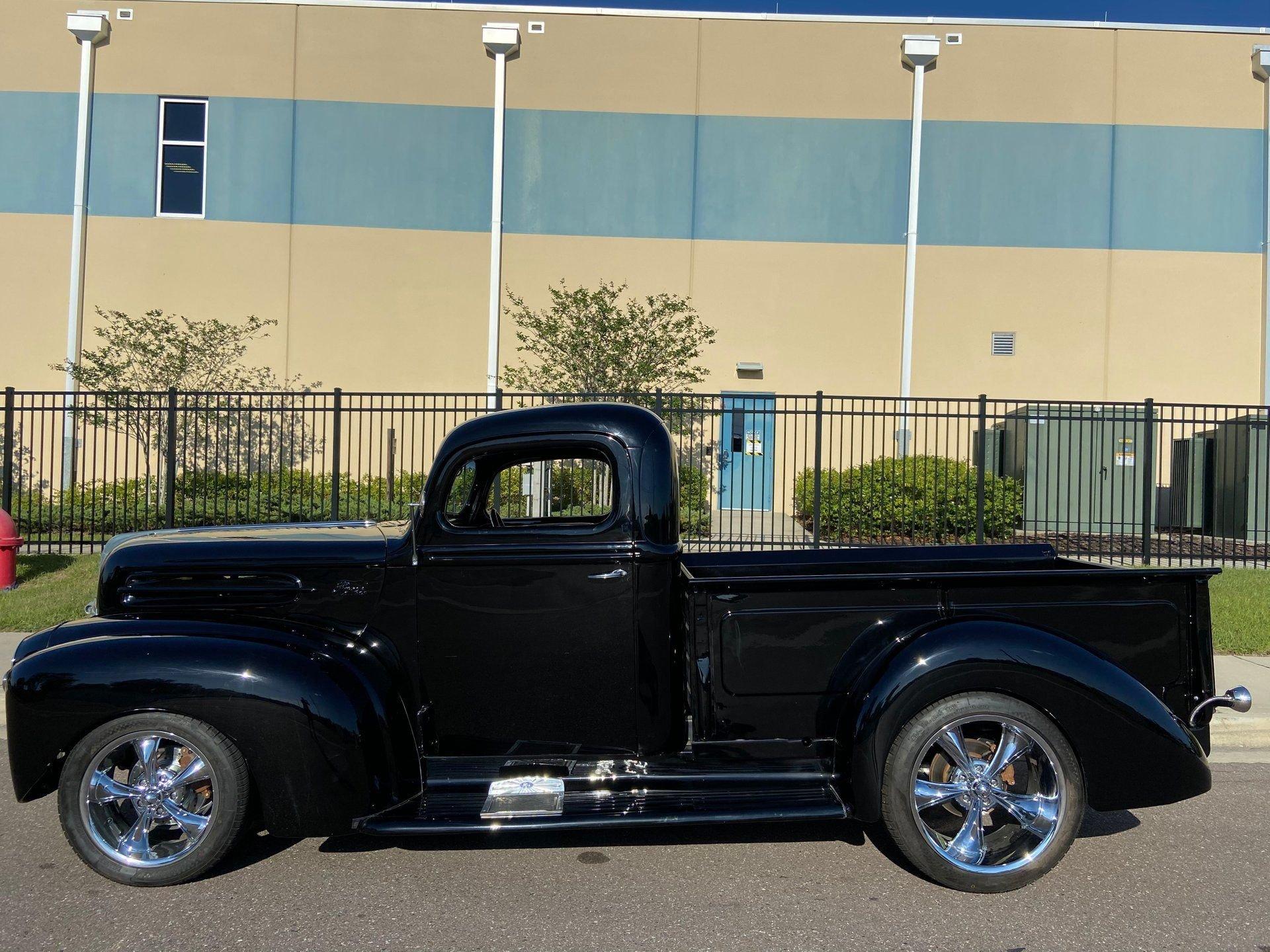 1947 ford f1 custom pickup