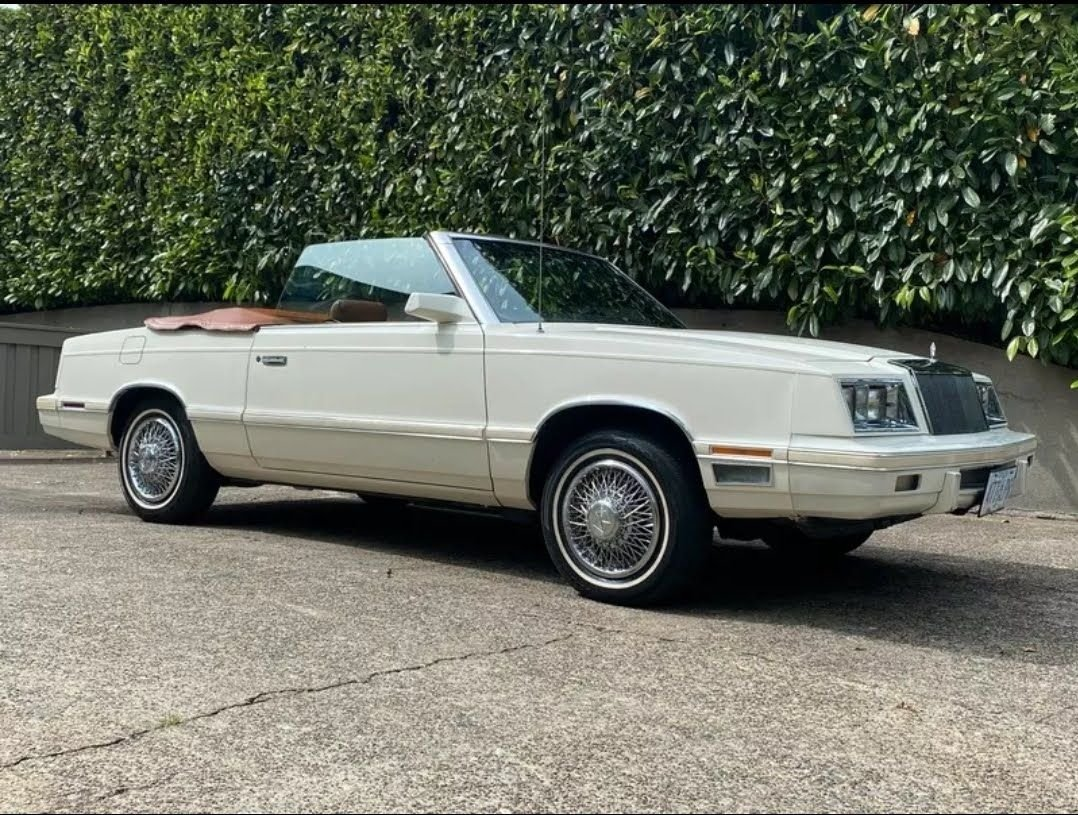 1982 chrysler lebaron mark cross edit convertible