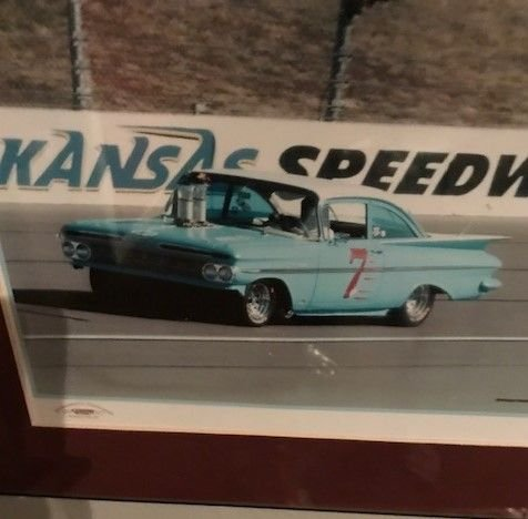 1959 chevrolet impala custom race car