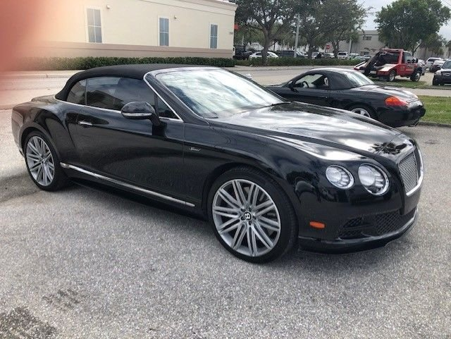 2015 bentley gtc speed convertble