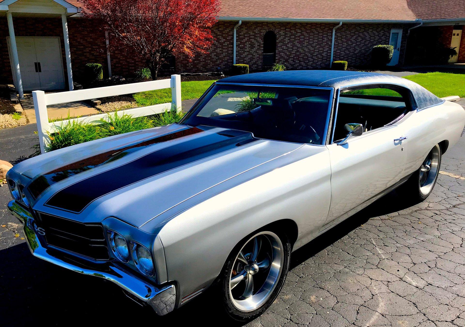 1971 chevrolet chevelle restomod coupe