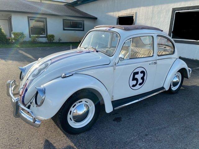 1967 volkswagen beetle herbie tribute