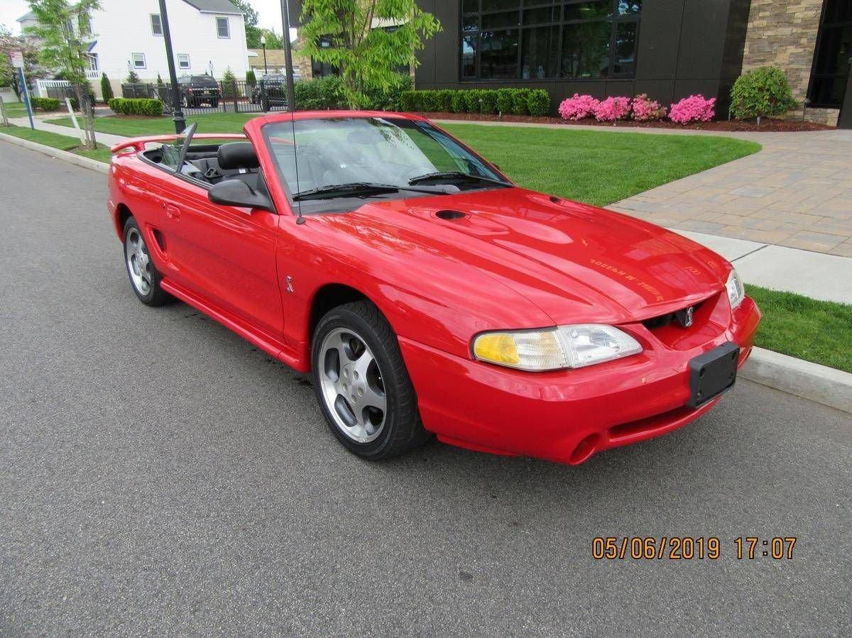 1997 ford mustang cobra svt convertible