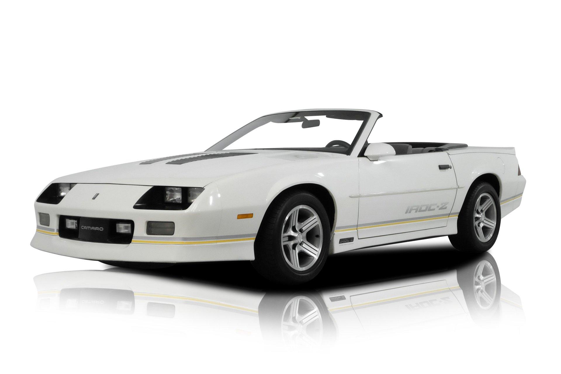 1988 chevrolet camaro iroc z28 convertible