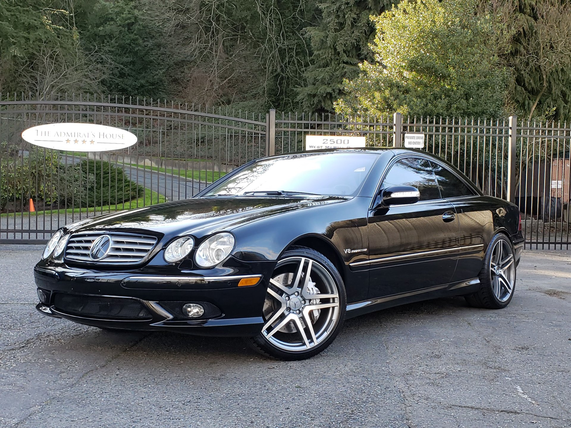 2003 mercedes benz cl55 amg coupe