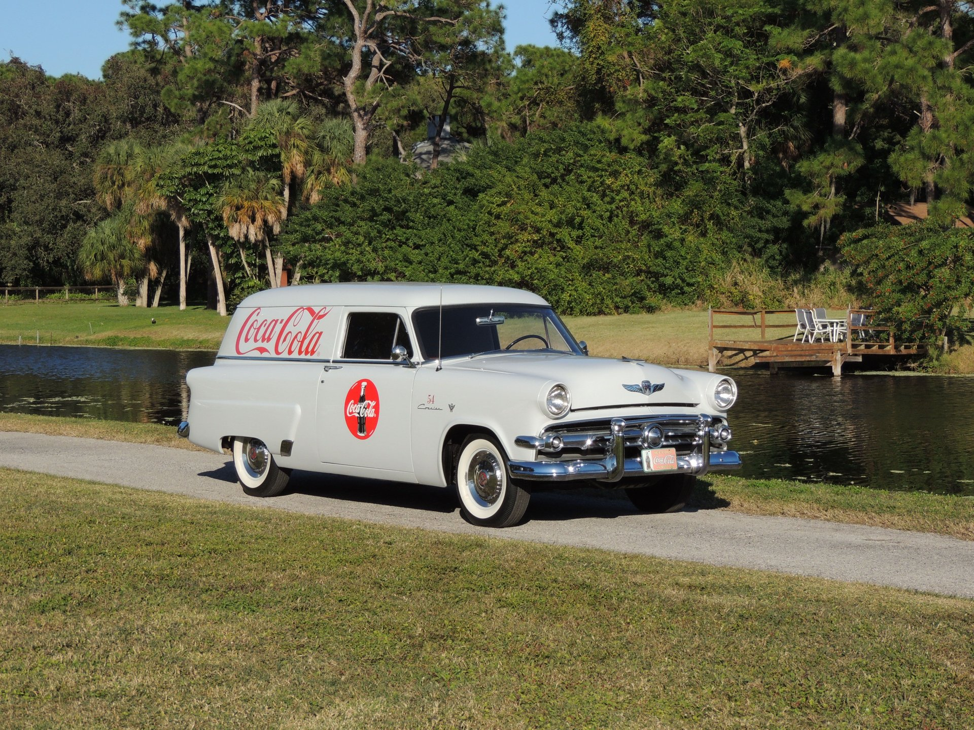 1954 ford courier sedan delivery
