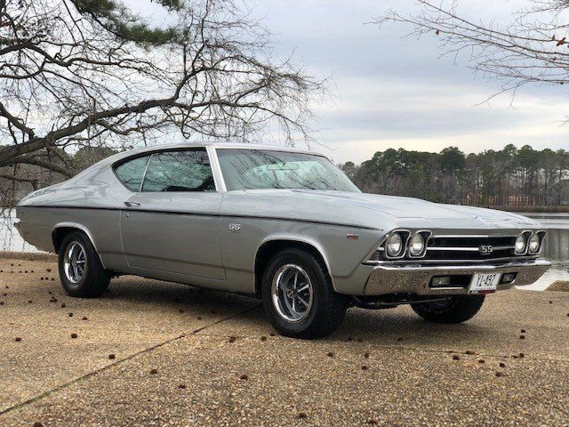 1969 chevrolet chevelle ss coupe