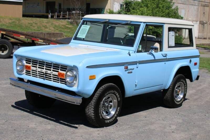 1974 ford bronco sport utility
