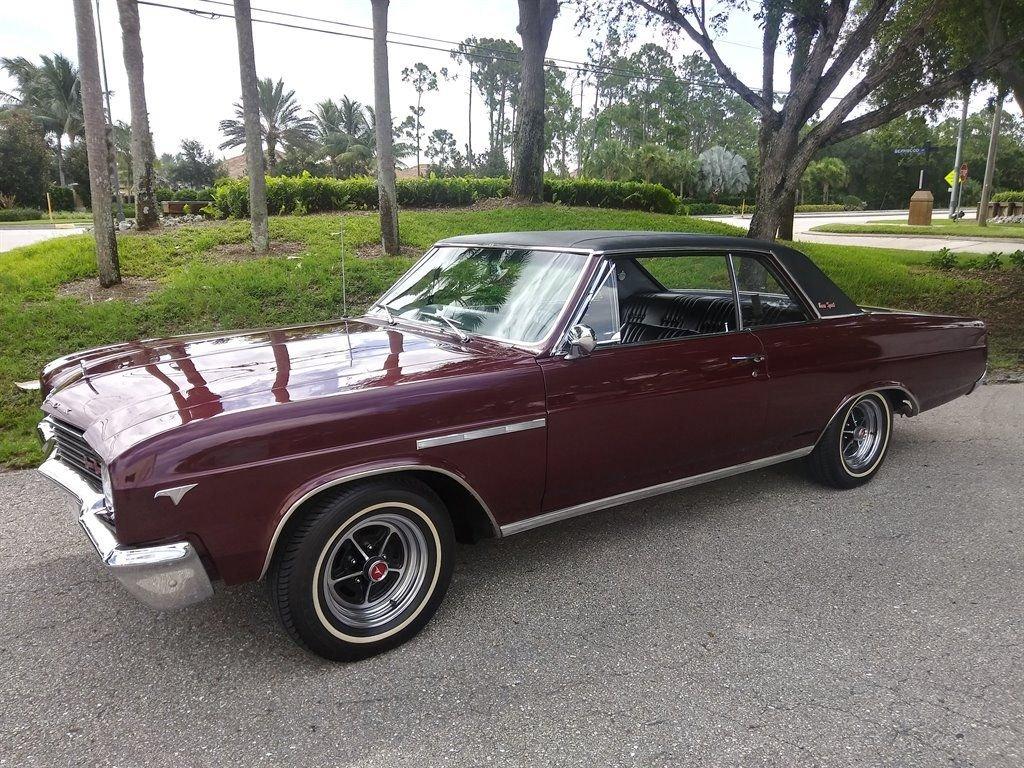 1965 buick skylark gran sport coupe