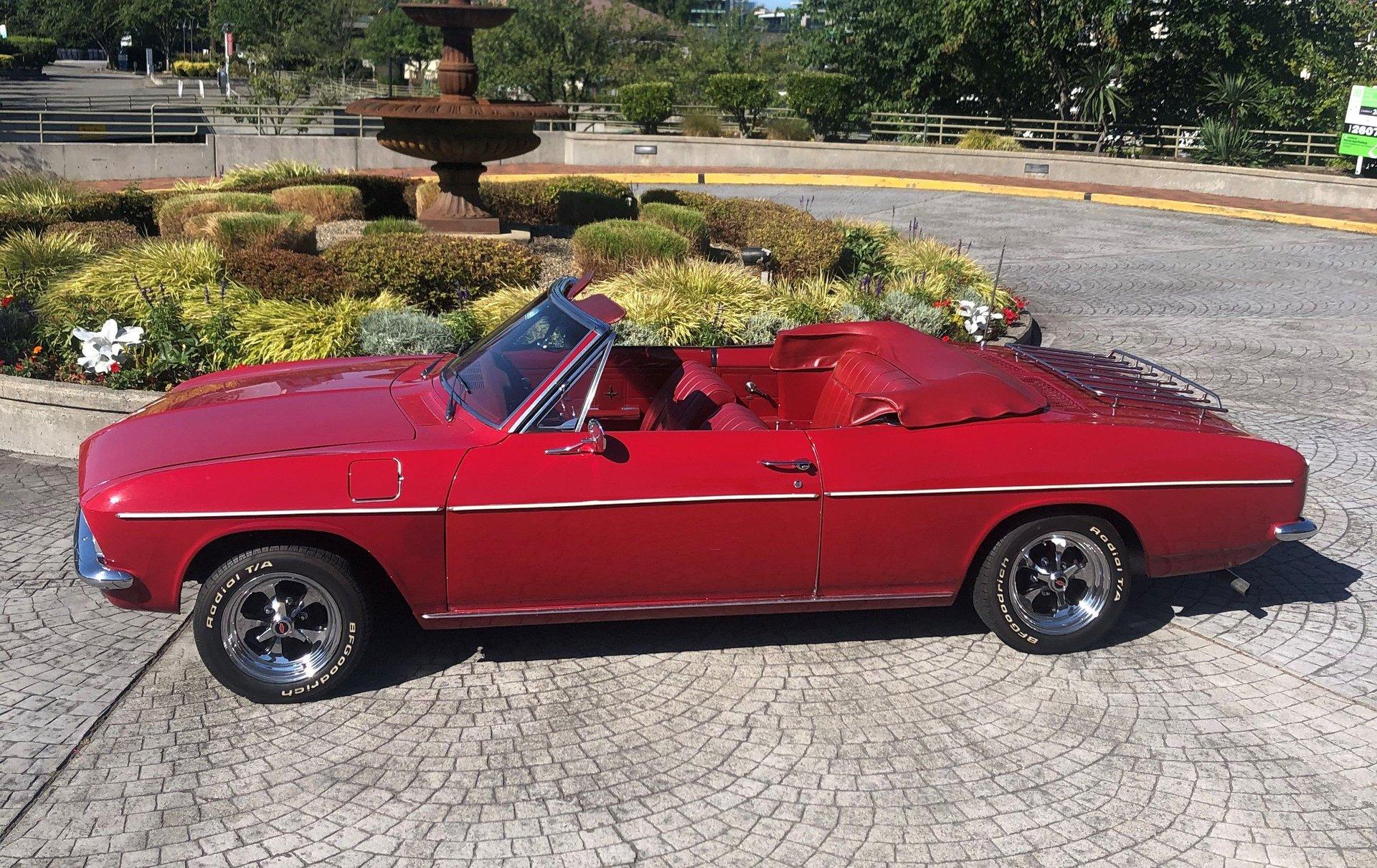 1966 chevrolet corvair convertible
