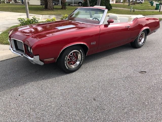 1972 oldsmobile cutlass 442 tribute convertible
