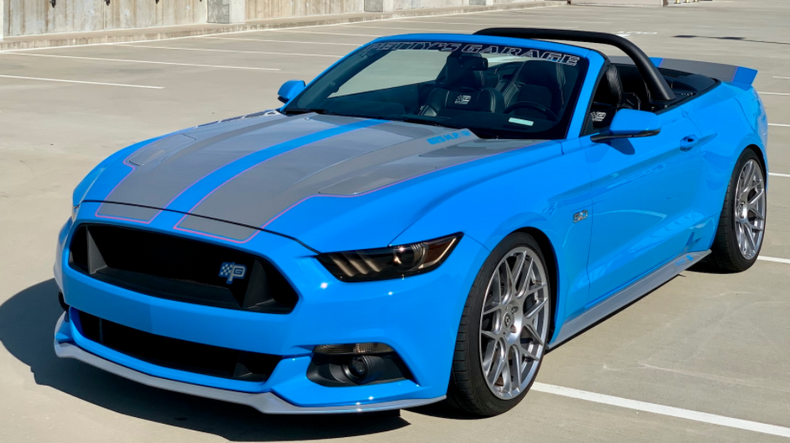 2017 Ford Mustang Petty's Garage